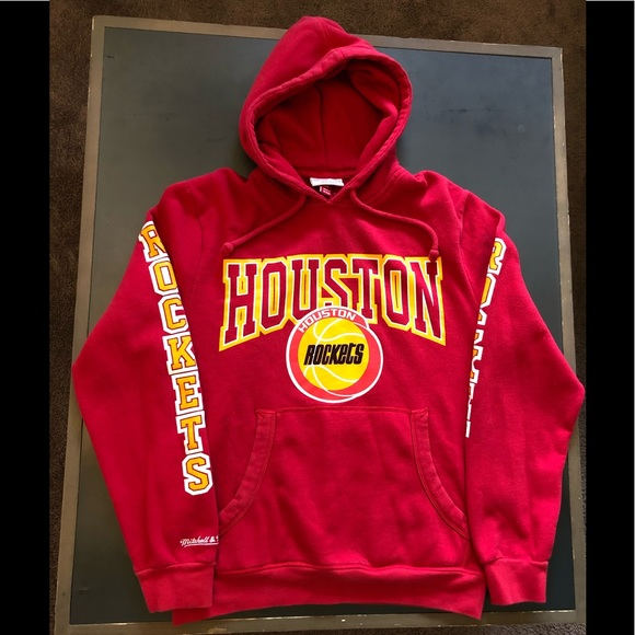 598ed28f Mitchell & Ness Shirts | Mitchell Ness Houston Rockets Pullover ...